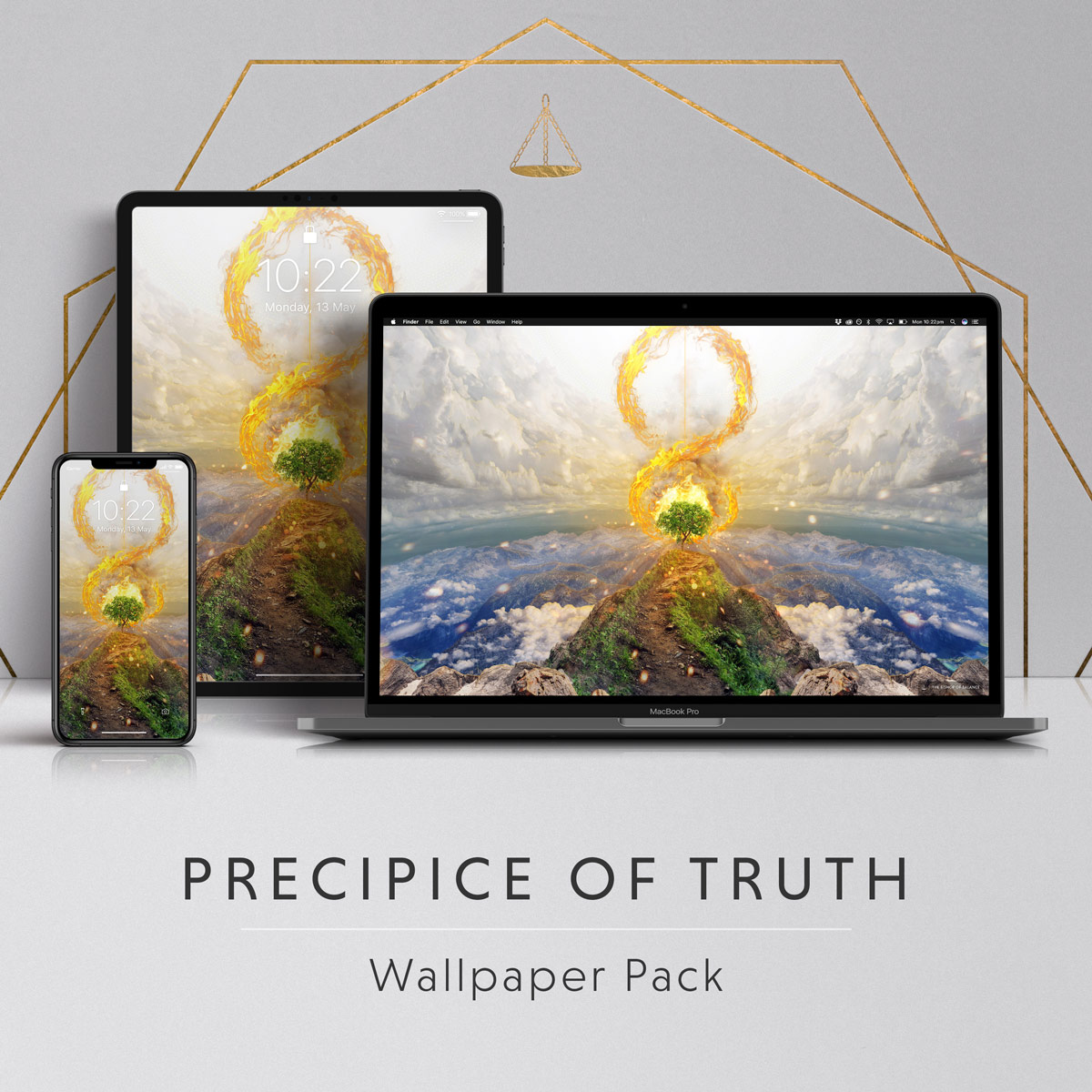 Precipice Of Truth 4k Wallpaper Pack